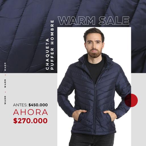 Ver nuestra nueva chaqueta puffer thm para hombre