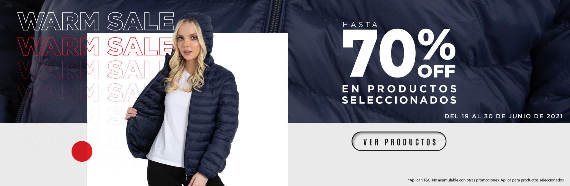Descuentos Warm Sale THM 2021hasta del 70% OFF