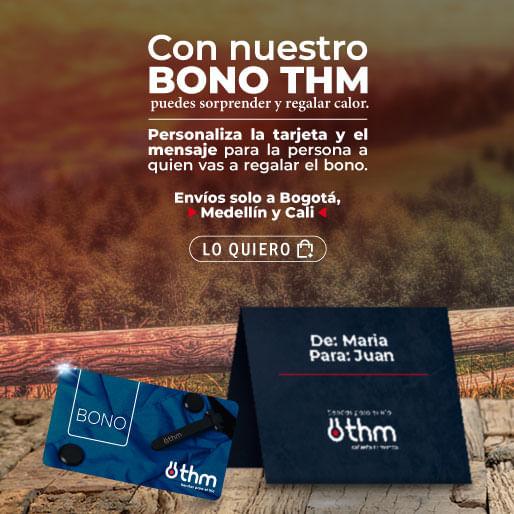 Comprar bonos de regalo THM