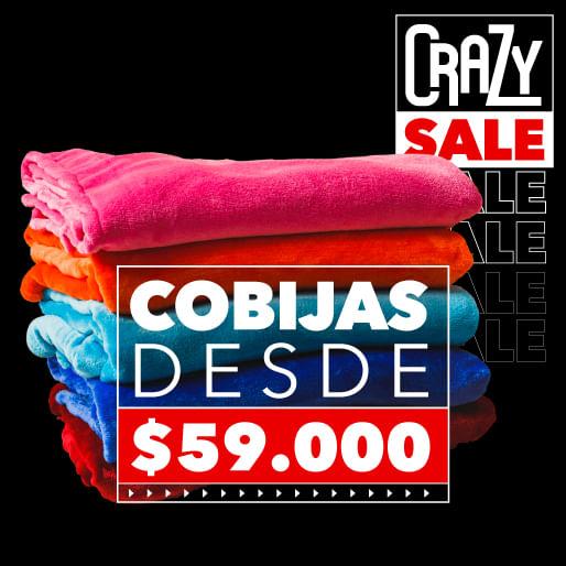 Cobijas THM - Descuento crazy sale