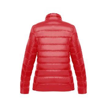 Chaqueta-New-essential-light-down-Mujer-Rojo-2
