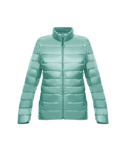 Chaqueta-New-essential-light-down-Mujer-Verde