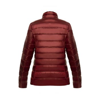 Chaqueta-New-essential-light-down-Mujer-Vino-tinto-2