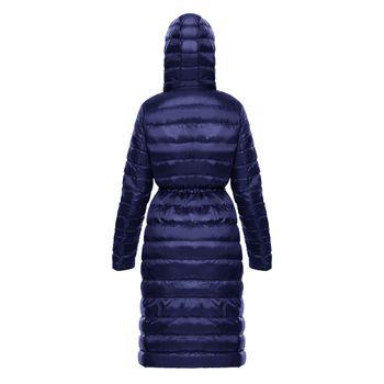 Gaban-Long-New-essential-light-down-Mujer-Azul-Navy-2