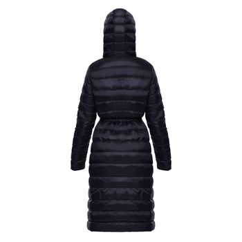 Gaban-Long-New-essential-light-down-Mujer-Negro-2