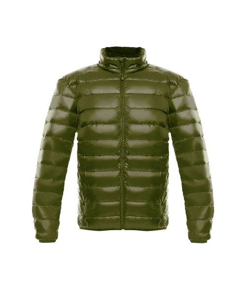 Chaqueta-New-essential-light-down-Hombre-verde-militar