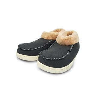 SLIPPERS-FURRY-WARMY-UNISEX-GRIS