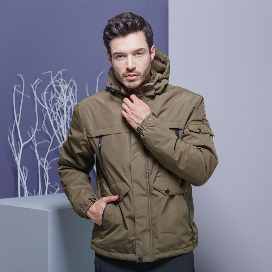 CHAQUETA-HUNTER-MOUNTAIN-UNISEX-VERDE-MILITAR