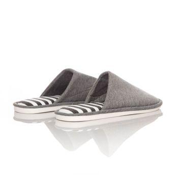 Slippers-Comfy-stripes-unisex-gris--1-