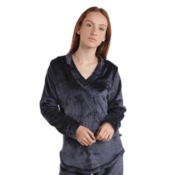 pijama_fleece_mujer_negra_1