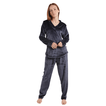 pijama_fleece_mujer_negra_2